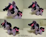 Commish - FIM: Chibi Twilight Sparkle by HyenaTeeth