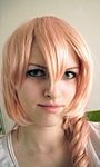 Serah Farron cosplay wig by ladylucienne