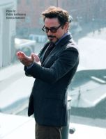 Robert Downey Jr. is karateka by GodWitch