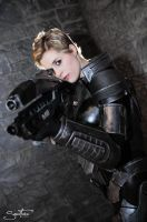 Katsucon 19 - Commander Shepard (Mass Effect 3) by Lilith1985