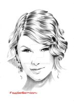 Taylor Swift by ink-line