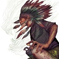 QROCK Smoke Signals by deadlymike