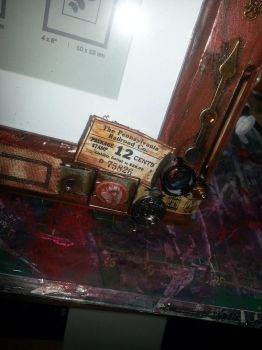 Steampunk Photo Frame 3 by Roxie5526