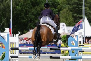 3DE Show Jumping Phase Stock 11 by LuDa-Stock