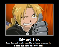 Edward Elric by Sarakinz