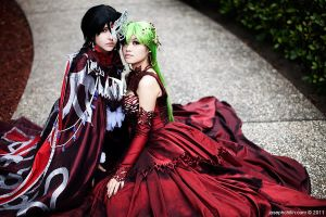 Lelouch and CC by Shiya