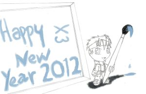 Happy New Year 2012 by Fizzle-Knight