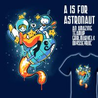 A is for Astronaut by grrlmarvel