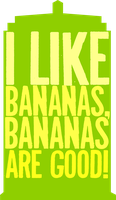 Bananas are Good by morwenvaidt