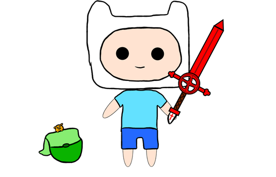 Finn The Human by pinkorchid123