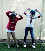 GoRiLLaZ Cosplay 222 Dance 2D by Hikarulein