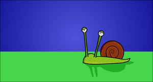 The Snail by nftadaedalus