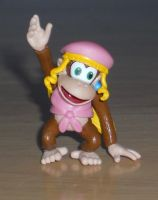 Dixie Kong Figure by SuperTailsHero
