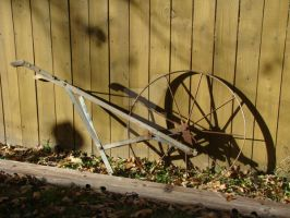 Antique Plow by ThruCarolsEyes-Stock by ThruCarolsEyes-Stock