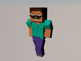 Steve is main character by Fasta101