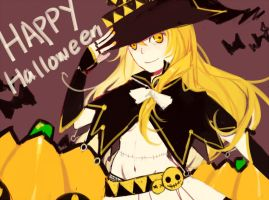 Happy Halloween by kimonogo