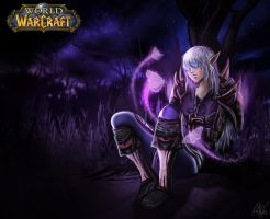 Night Elf Hunter by Tonis90