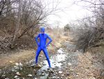 Zentai in the Woods21 by Tshirtartist