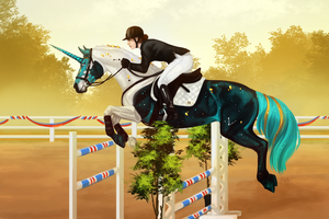 Qualifier 1 - Show Jumping by Memuii