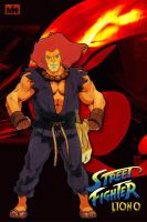 Street Fighter Lion-O by MightyMusc