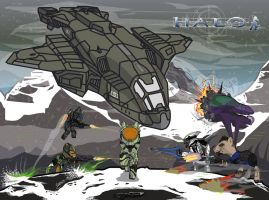 HALO MLP by chiimich
