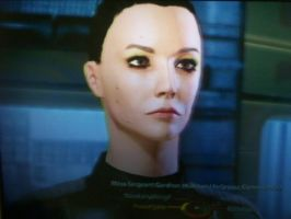 its is my sis character from mass effect 2 by lilkairi15