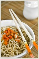 Noodle soup by shatinn