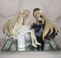 Chobits -hand holding- by Mako-chan89