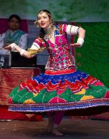 Indian / Bollywood / Folk dancer Apsara by Apsara-Stock