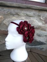 Juliette Flower Jewelled Headband by paradiseshoretwins