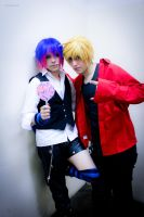 Panty and Stocking Male Version -02 by DamianNada