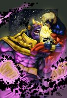 Nunez Thanos Colors by slippyninja