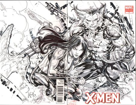 commissions...x23-wolverine by ledkilla