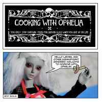 Cooking with Ophelia Page 1 by Karla-Chan