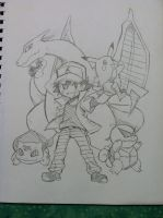 Pkmn Trainer Ash wants to battle! by NintendoPie