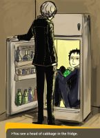 Something in the fridge by muse33