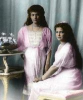 Grand Duchesses Anastasia and Maria by PrincessJennii94