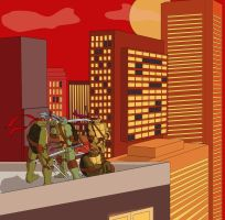 TMNT by scottsyorke