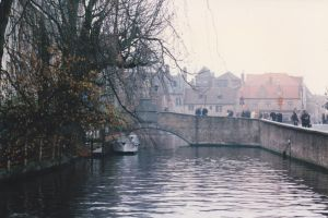 Bruges River by drshaggy