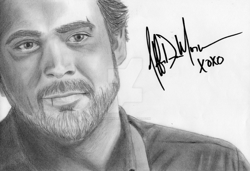 John Winchester Signed by MissMinority