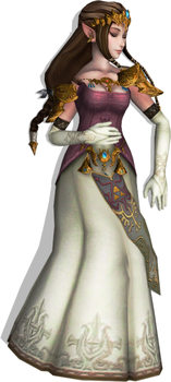 Princess Zelda (Twilight Princess) Fainted 4 by FallenParty