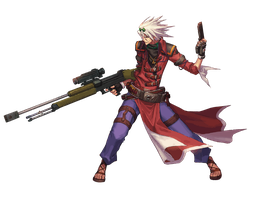 Dungeon Fighter Online - Male Gunner by TooneGeminiElf