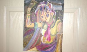 my expressionistic or impressionistic girl by KikiGreenwell