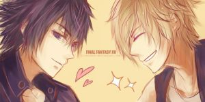 YEAH FFXV!! by Fiveonthe