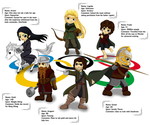 Olympic Team - Middle-earth by veveco