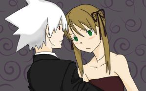 Soul Eater- Soul and Maka by 1animefangirl1