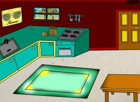 background kitchen by CourtR