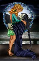 Hades and Persephone by Atressa