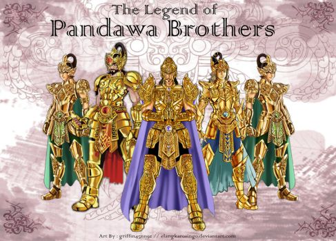 The Pandawa Brothers by elangkarosingo