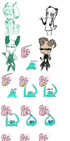 iScribble with Irovi by CuddlesAndHuggles